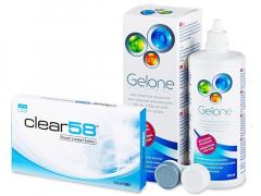 Clear 58 (6Linsen) + Gelone 360 ml
