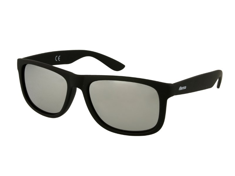 Sonnenbrille Alensa Sport Black Silver Mirror