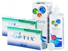 Air Optix for Astigmatism  (2x3Linsen) + Gelone 360ml