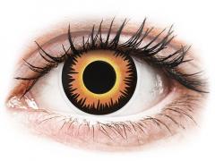 ColourVUE Crazy Lens - Orange Werewolf - ohne Stärke (2 Linsen)