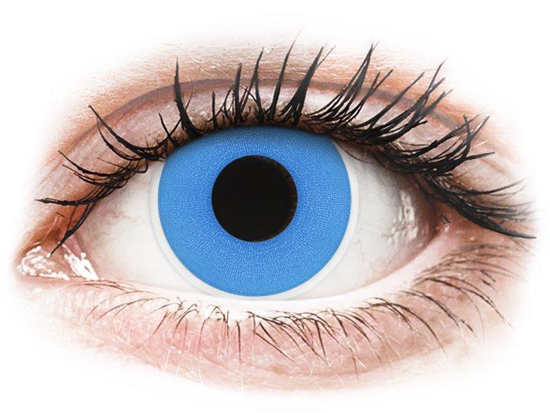 ColourVUE Crazy Lens - Sky Blue - ohne Stärke (2 Linsen)