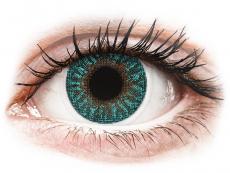 TopVue Color - Turquoise - mit Stärke (2 Linsen)
