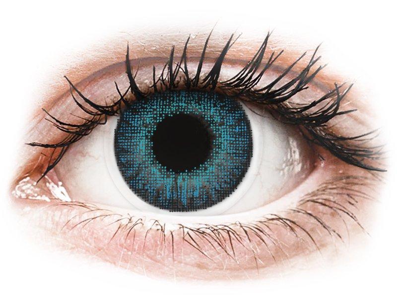 Air Optix Colors - Brilliant Blue - ohne Stärke (2Linsen)