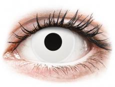 ColourVUE Crazy Lens - Whiteout - Tageslinsen ohne Stärke (2 Linsen)