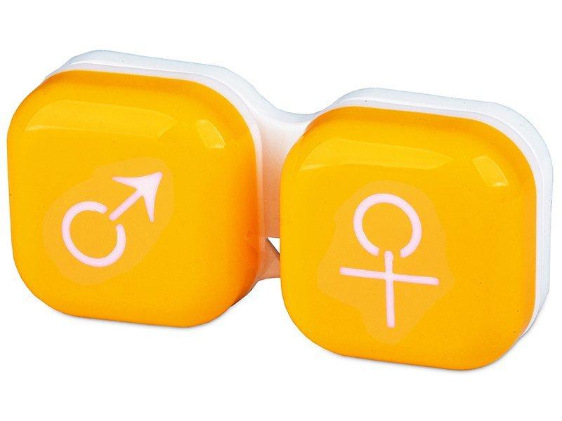 Behälter man&woman - gelb