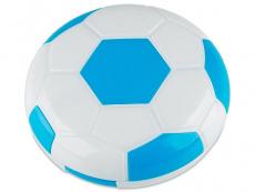 Kontaktlinsen-Etui Fußball - blau