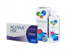 Acuvue Vita (6 Linsen) + Gelone 360 ml