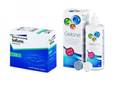 SofLens 38 (6 Linsen) + Gelone 360 ml