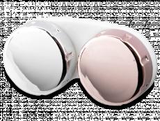 Linsenbehälter mit Spiegeleffekt - pink