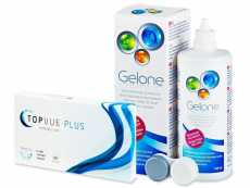 TopVue Plus (6 Linsen) + Gelone 360 ml