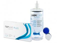 TopVue Plus (6 Linsen) + LAIM-CARE Pflegemittel 400ml