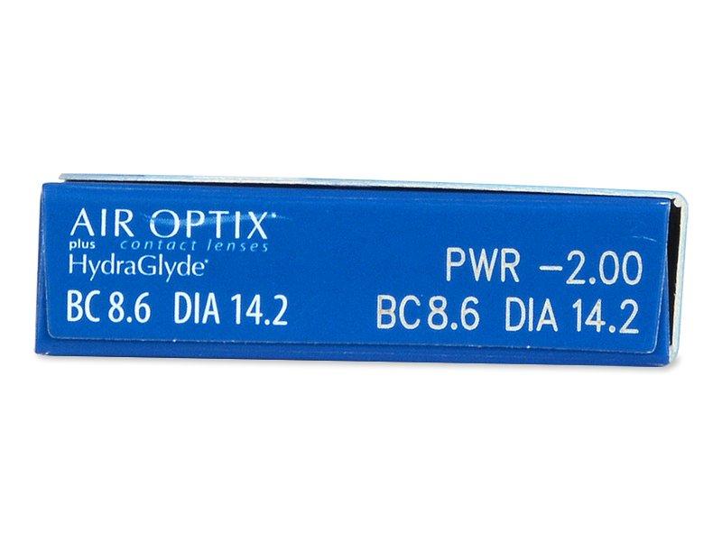 Air Optix plus HydraGlyde (6Linsen)