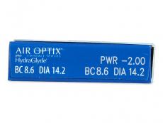 Air Optix plus HydraGlyde (3 Linsen)