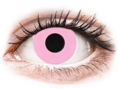 CRAZY LENS - Barbie Pink - Tageslinsen mit Stärke (2 Linsen)