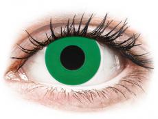 CRAZY LENS - Emerald Green - Tageslinsen mit Stärke (2 Linsen)