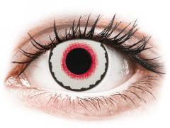 CRAZY LENS - Mad Clown - Tageslinsen ohne Stärke (2 Linsen)