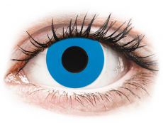 CRAZY LENS - Sky Blue - Tageslinsen mit Stärke (2 Linsen)