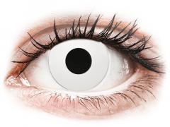 CRAZY LENS - WhiteOut - Tageslinsen ohne Stärke (2 Linsen)