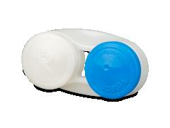 Antibakterieller Linsenbehälter - blau