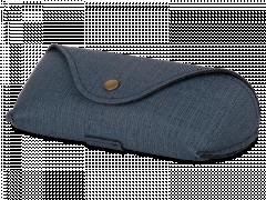 Blaues Brillenetui SH224-1