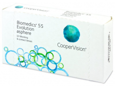 Biomedics 55 Evolution (6 Linsen)