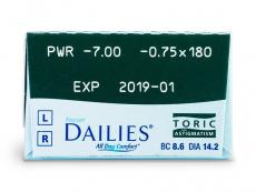 Focus Dailies Toric (30Linsen)