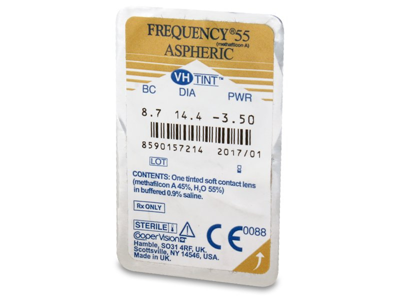 Frequency 55 Aspheric (6 Linsen)