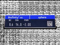 Biofinity (6Linsen)