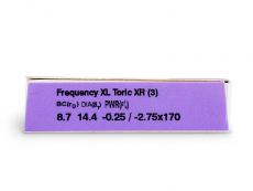 FREQUENCY XCEL TORIC XR (3 Linsen)